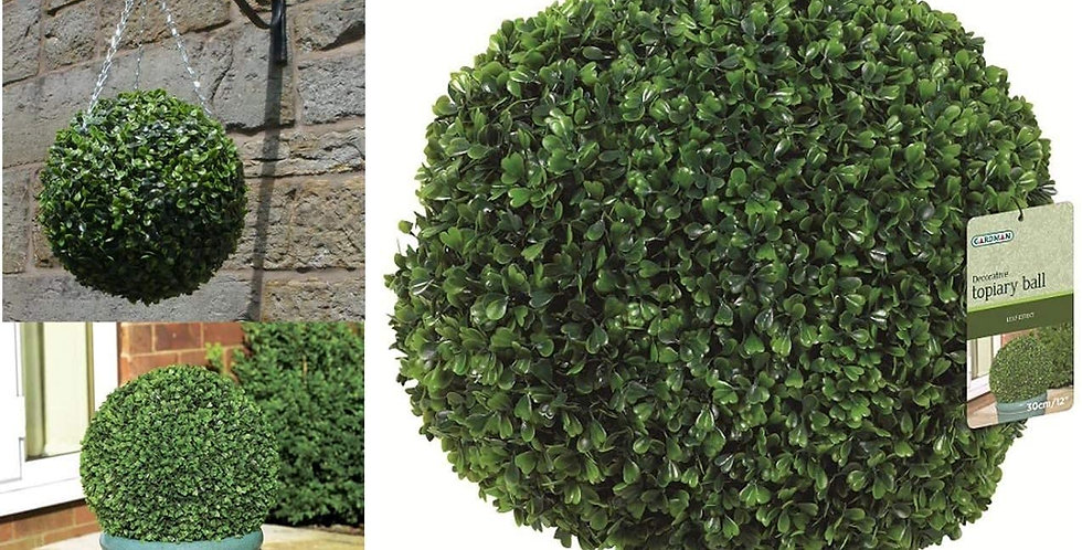 Artificial Leaf Topiary Ball