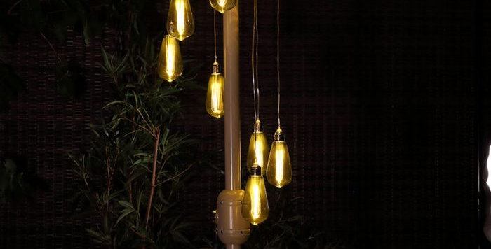 The Bulb Spiral Chandelier