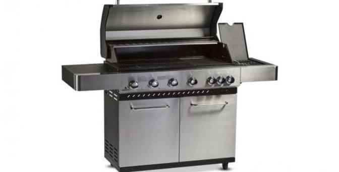 Alpha 6 Burner BBQ & Side Burner