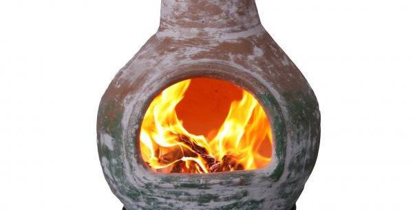 Colima XL Chimenea Natural/green