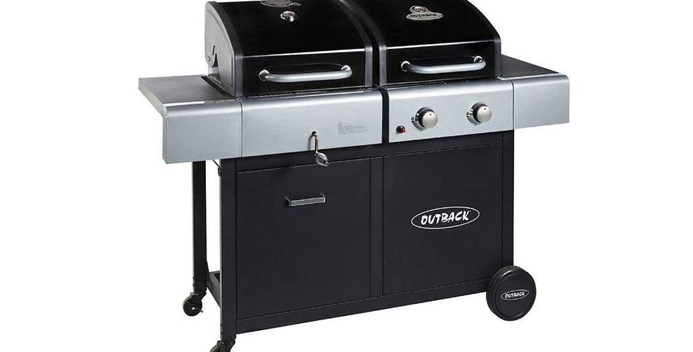 Outback Dual Fuel 4 burner BBQ