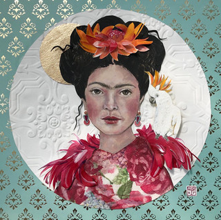 Frida & Friend | Helen Platania Art