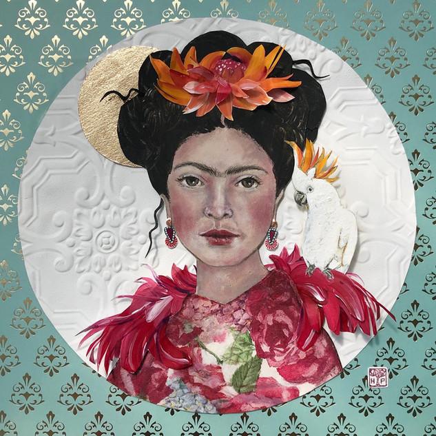 Frida & Friend   Helen Platania Art