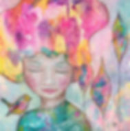Dreaming in Colour Artwork by Helen Platania