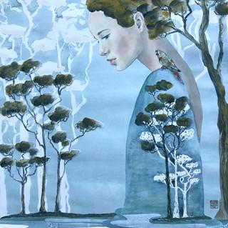 The Concious Guest | Helen Platania Art