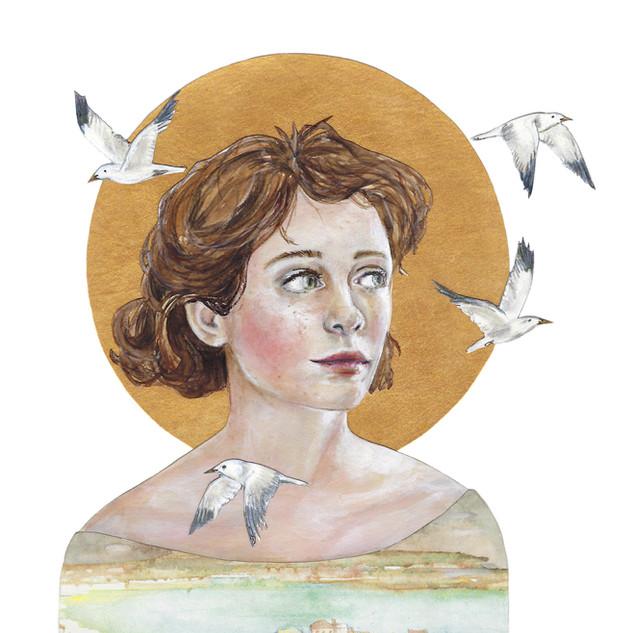 Gals & Gulls   Helen Platania Art