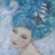 Stormy Waters Artwork by Helen Platania