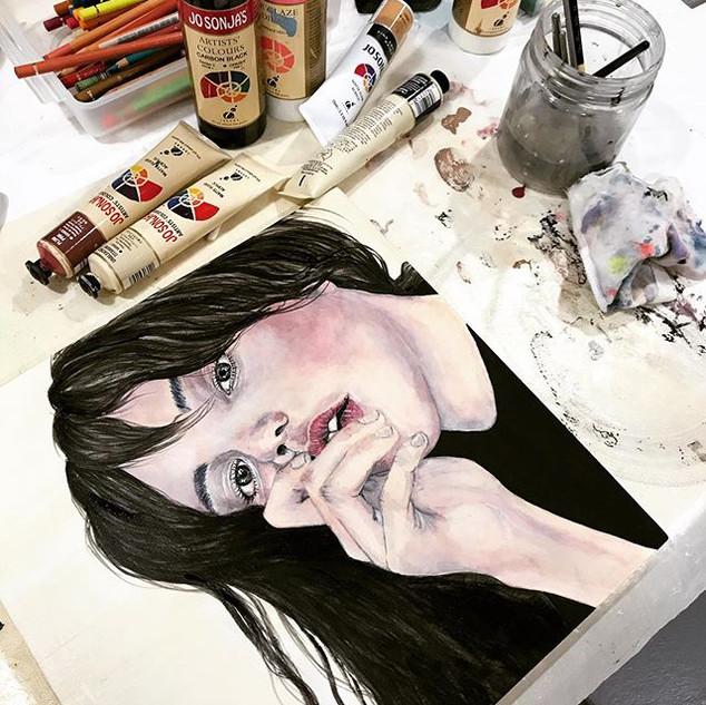 Self   Helen Platania Art