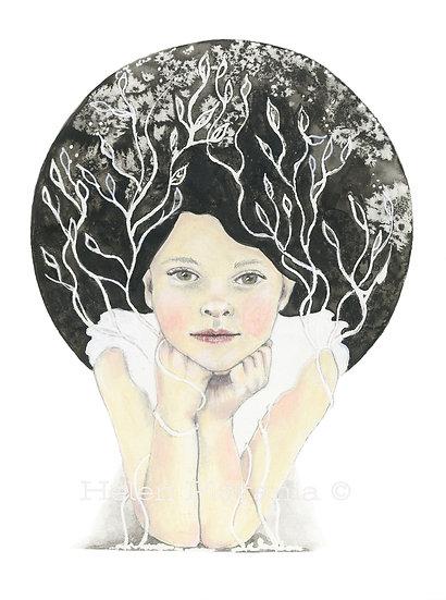 Growth - Fine Art Greeting Card