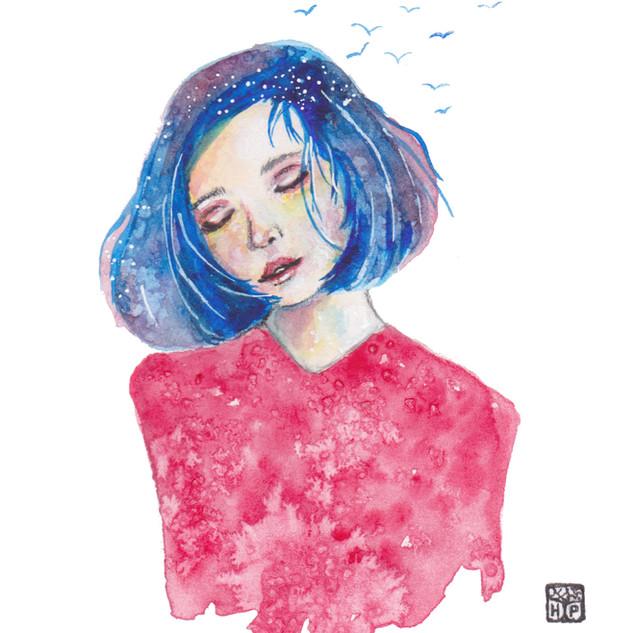 Dreamer   Helen Platania Art