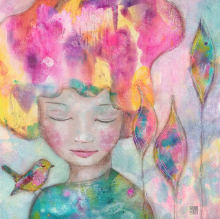 Dreaming in colour | Helen Platania Art