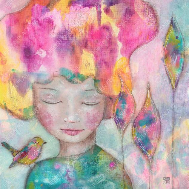 Dreaming in colour   Helen Platania Art