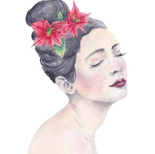 Poinsettia | Helen Platania Art