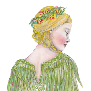 Aussie Angel | Helen Platania Art
