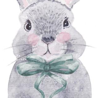 Bunny Bows | Helen Platania Art