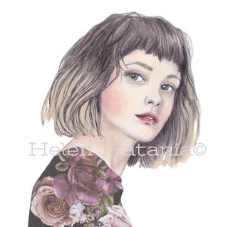 Bella Rose | Helen Platania Art