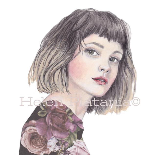Bella Rose   Helen Platania Art