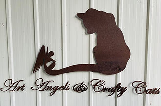 Art Angels Studio Sign