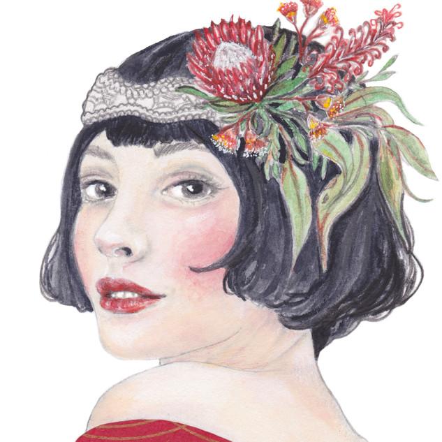Flora   Helen Platania Art