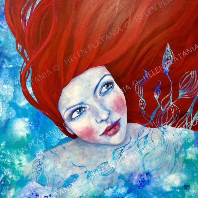 Ariel   Helen Platania Art