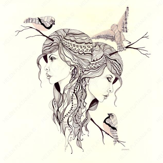 Intuition   Helen Platania Art