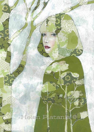 Forest Dweller - Fine Art Greeting Card
