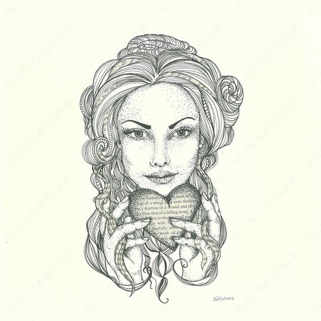 Wholehearted   Helen Platania Art