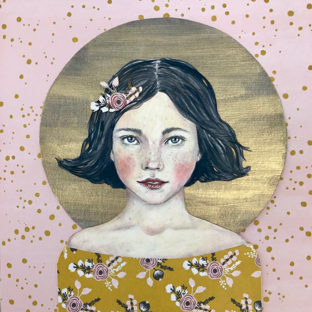 Molly's Mood   Helen Platania Art