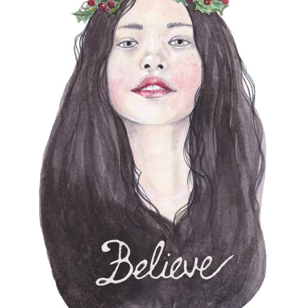 Believe   Helen Platania Art
