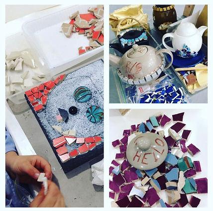 Kids Mosaic Class | Helen Platania Art
