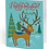 Thumbnail: Merry Holiday Cards & Envelopes, 4 Designs, 5.5x8.5. (set of 36)