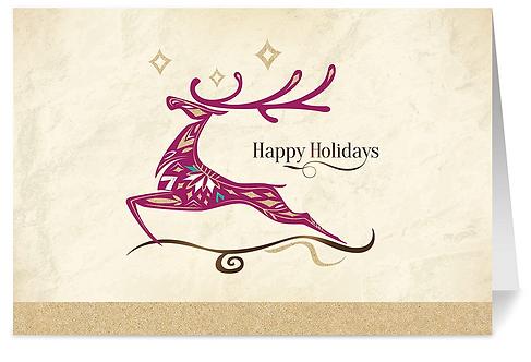 Holiday Wonder Holiday Cards & Envelopes, 5x7 (set of 18)