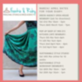 MARCH FRANKIE & RUBY DRESS AGENCY - Feb