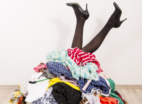 Unwanted clothes from your wardrobe clear out?  Here's our top five recycling tips