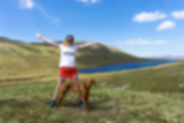 the weekend warriors | scotland | chilli pepper dog | adventure | vizsla |