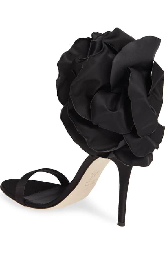 Blooming Flower Ankle Strap Sandal
