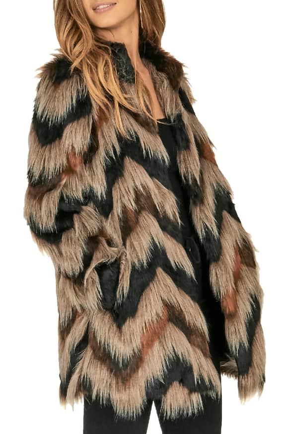 Waylon Faux Fur Jacket