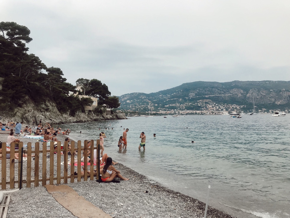 Favorite Beach in the French Riviera