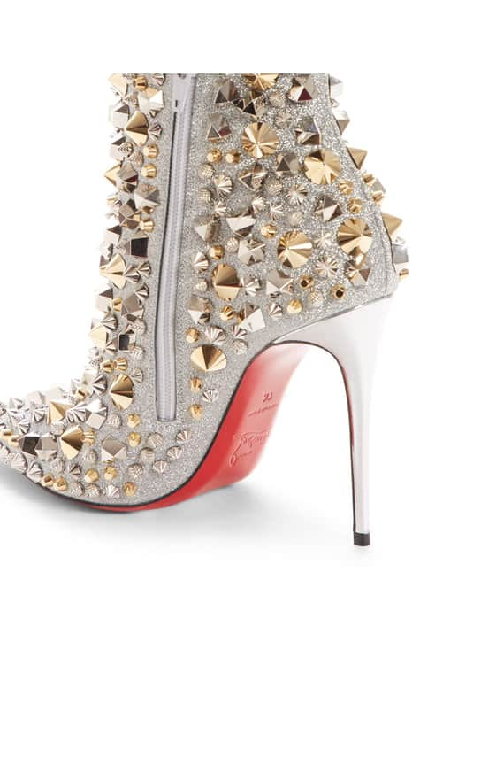So Kate Studded Glitter Bootie side
