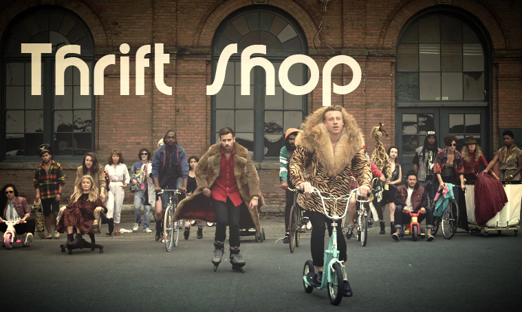 macklemore ryan lewis thrift shop video