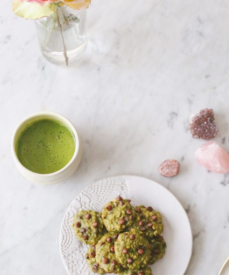 Recipe Review: Candice Kumai's Matcha Chocolate Chip Banana Cookies