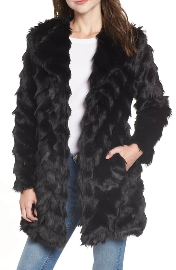 It's All Happening Faux Fur front