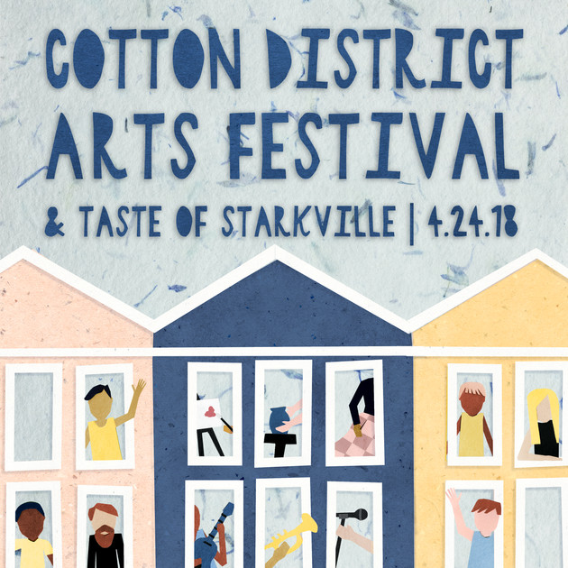 Cotton District Arts Festival Poster
