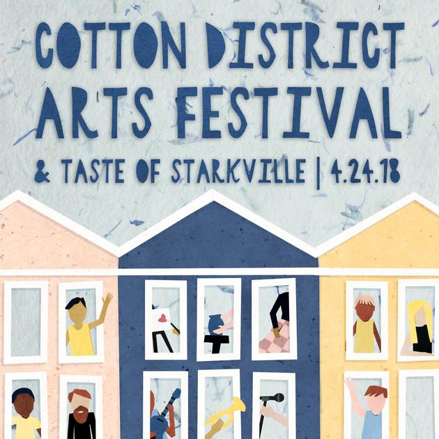 Cotton District Arts Festival Poster