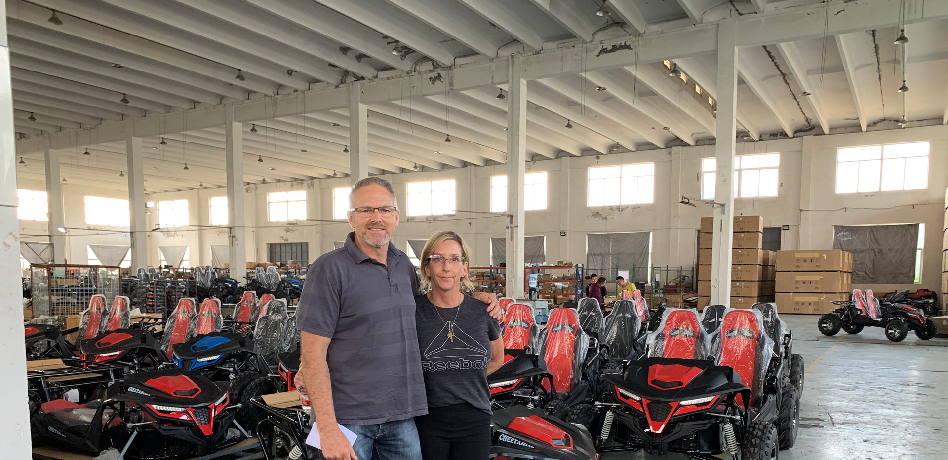 Factory visit 2019 Dune Buggy