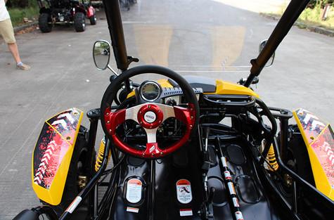 Racing Style Steering Wheel
