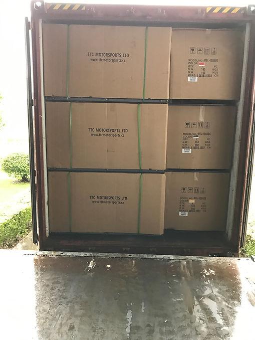 TTC Motorsports Ltd. ATV's crates boxes