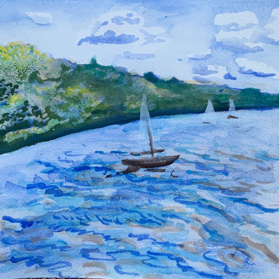"""""""Sailing Nockamixon"""""""
