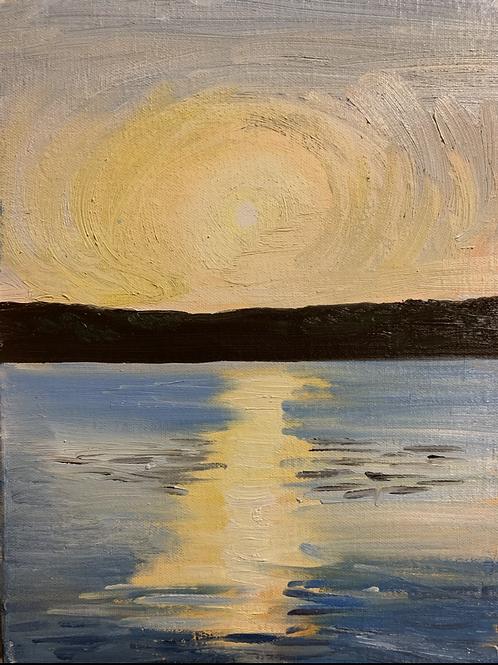 """Fast Sunset- Marsh Creek"""