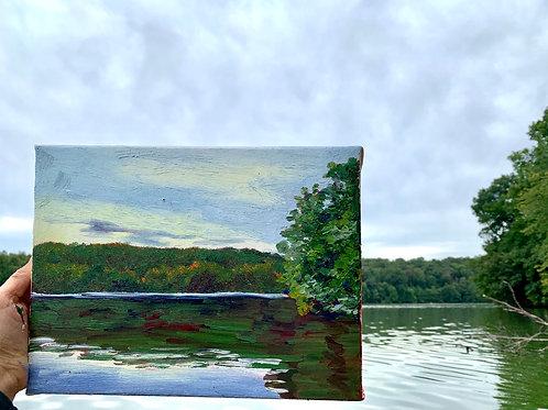 """""""Marsh Creek Summer Ending"""""""